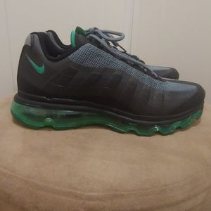check out 2d509 62726 Nike Shoes - NIKE · AIR MAX 95 · BLACK GREEN · WOMEN S 7.5